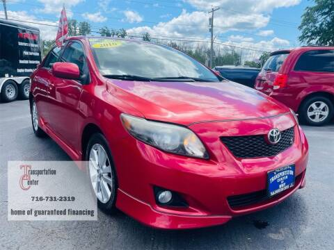 2010 Toyota Corolla for sale at Transportation Center Of Western New York in Niagara Falls NY