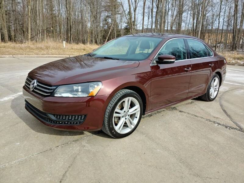 2014 Volkswagen Passat for sale at Autolika Cars LLC in North Royalton OH