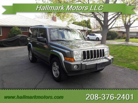 2008 Jeep Commander for sale at HALLMARK MOTORS LLC in Boise ID