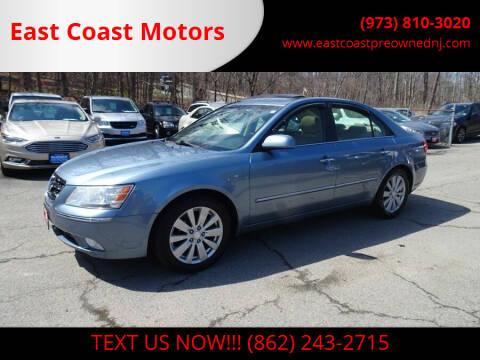 2009 Hyundai Sonata for sale at East Coast Motors in Lake Hopatcong NJ
