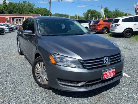 2014 Volkswagen Passat for sale at A&M Auto Sales in Edgewood MD