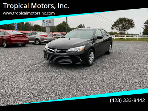 2016 Toyota Camry for sale at Tropical Motors, Inc. in Riceville TN