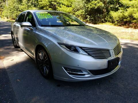 2016 Lincoln MKZ Hybrid for sale at Showcase Auto & Truck in Swansea MA