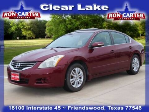 2010 Nissan Altima for sale at Ron Carter  Clear Lake Used Cars in Houston TX