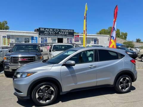 2018 Honda HR-V for sale at Black Diamond Auto Sales Inc. in Rancho Cordova CA