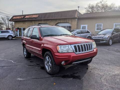 2004 Jeep Grand Cherokee for sale at Worley Motors in Enola PA