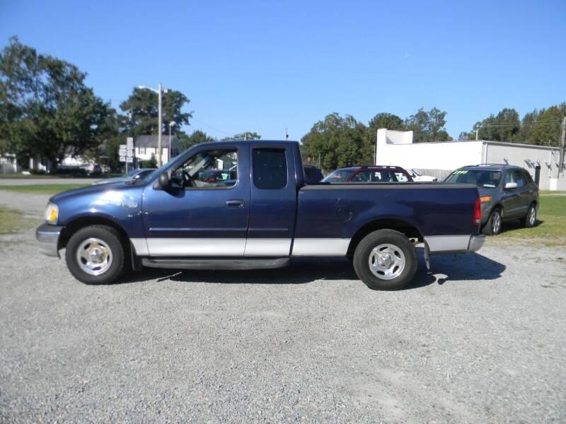 2003 Ford F-150 for sale at SeaCrest Sales, LLC in Elizabeth City NC