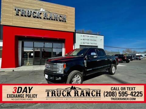 2018 Ford F-250 Super Duty for sale at Truck Ranch in Twin Falls ID