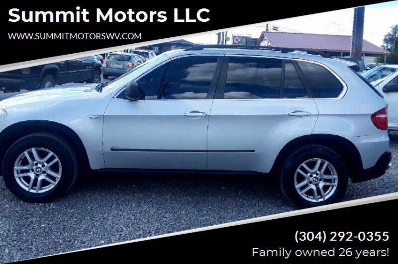2007 BMW X5 for sale at Summit Motors LLC in Morgantown WV