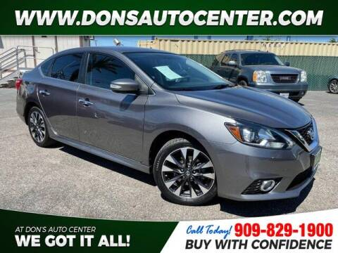 2016 Nissan Sentra for sale at Dons Auto Center in Fontana CA