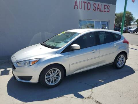 2018 Ford Focus for sale at CHURCHILL AUTO SALES in Fallon NV