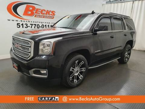 2017 GMC Yukon for sale at Becks Auto Group in Mason OH
