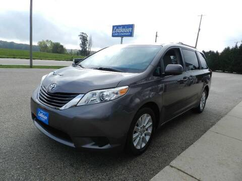 2011 Toyota Sienna for sale at Leitheiser Car Company in West Bend WI