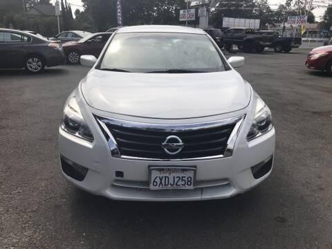 2013 Nissan Altima for sale at EXPRESS CREDIT MOTORS in San Jose CA