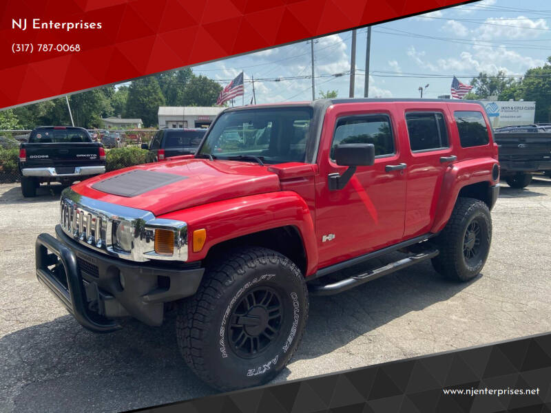 2007 HUMMER H3 for sale at NJ Enterprises in Indianapolis IN