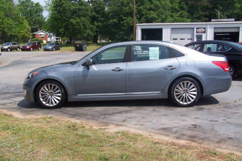 2015 Hyundai Equus for sale at Blackwood's Auto Sales in Union SC