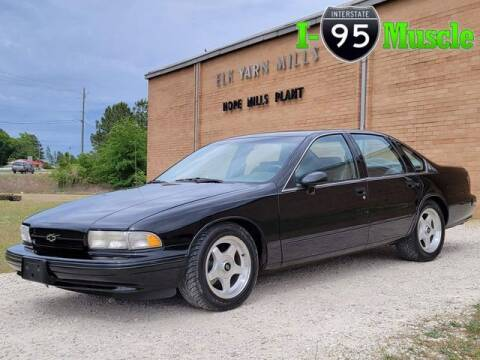 1994 Chevrolet Impala for sale at I-95 Muscle in Hope Mills NC