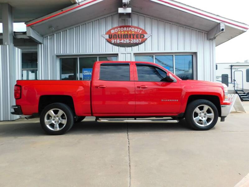 2014 Chevrolet Silverado 1500 for sale at Motorsports Unlimited in McAlester OK