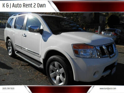 2011 Nissan Armada for sale at K & J Auto Rent 2 Own in Bountiful UT