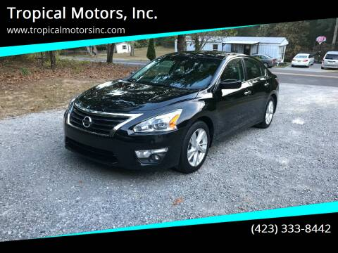 2015 Nissan Altima for sale at Tropical Motors, Inc. in Riceville TN