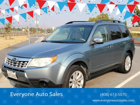 2011 Subaru Forester for sale at Everyone Auto Sales in Santa Clara CA