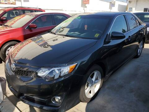 2012 Toyota Camry for sale at Express Auto Sales in Los Angeles CA