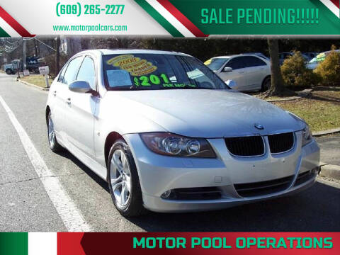2008 BMW 3 Series for sale at Motor Pool Operations in Hainesport NJ