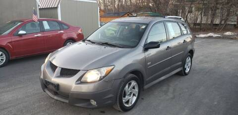 2004 Pontiac Vibe for sale at GREENPORT AUTO in Hudson NY