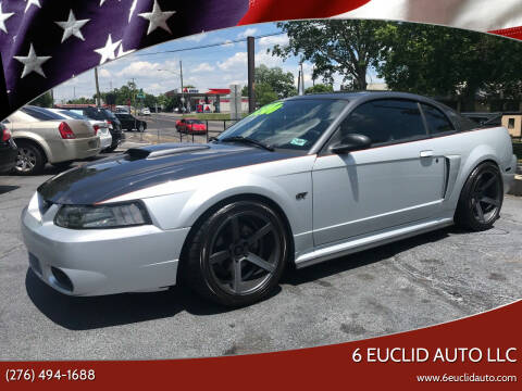 2002 Ford Mustang for sale at 6 Euclid Auto LLC in Bristol VA