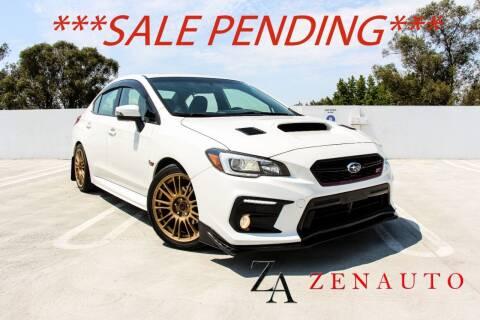 2015 Subaru WRX for sale at Zen Auto Sales in Sacramento CA