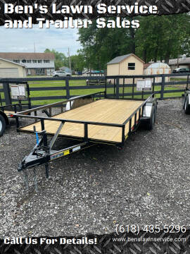 2021 Trailer Express 18'Utility for sale at Ben's Lawn Service and Trailer Sales in Benton IL
