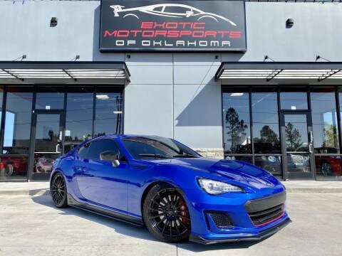 2018 Subaru BRZ for sale at Exotic Motorsports of Oklahoma in Edmond OK