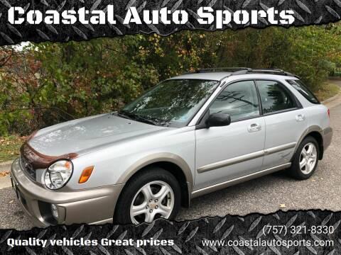 2003 Subaru Impreza for sale at Coastal Auto Sports in Chesapeake VA