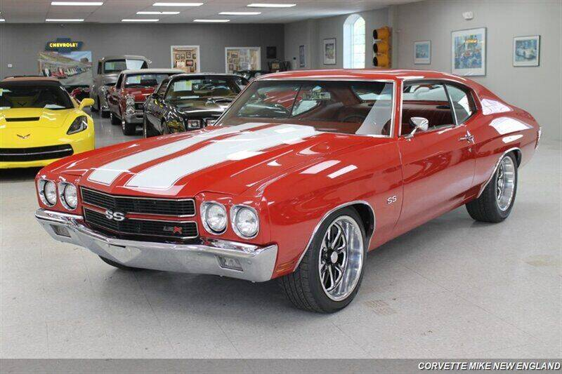 1970 Chevrolet Chevelle for sale at Corvette Mike New England in Carver MA