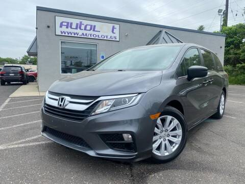 2019 Honda Odyssey for sale at AUTOLOT in Bristol PA