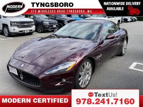 2009 Maserati GranTurismo for sale at Modern Auto Sales in Tyngsboro MA