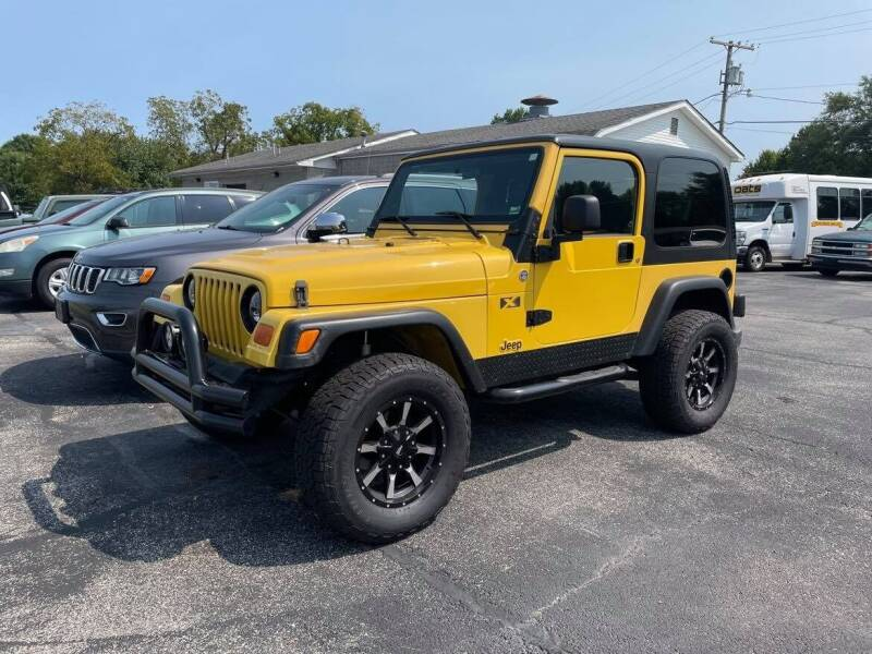 2006 Jeep Wrangler for sale at Cars Across America in Republic MO