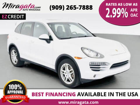 2012 Porsche Cayenne for sale at Miragata Auto in Bloomington CA