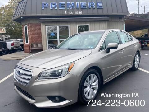 2015 Subaru Legacy for sale at Premiere Auto Sales in Washington PA