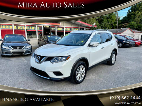 2016 Nissan Rogue for sale at Mira Auto Sales in Raleigh NC