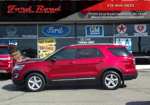 2017 Ford Explorer for sale at Ford Road Motor Sales in Dearborn MI