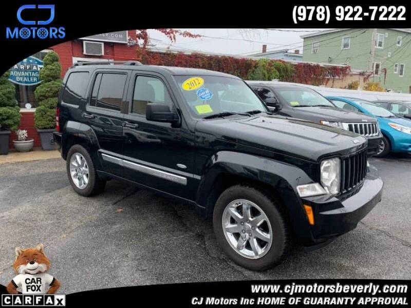 2012 Jeep Liberty for sale at CJ Motors Inc. in Beverly MA