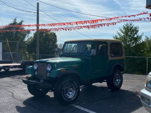 1980 Jeep CJ-7 for sale at 4X4 Rides in Hagerstown MD