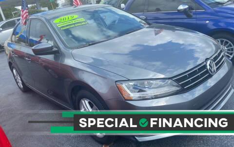 2018 Volkswagen Jetta for sale at Navarro Auto Motors in Hialeah FL
