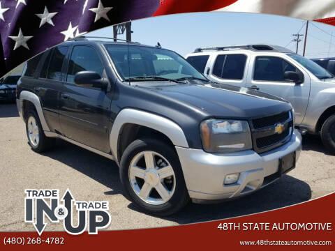 2007 Chevrolet TrailBlazer for sale at 48TH STATE AUTOMOTIVE in Mesa AZ