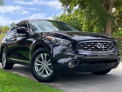 2013 Infiniti FX37 for sale at HIGH PERFORMANCE MOTORS in Hollywood FL