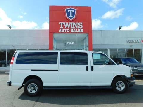 2019 Chevrolet Express Passenger for sale at Twins Auto Sales Inc Redford 1 in Redford MI