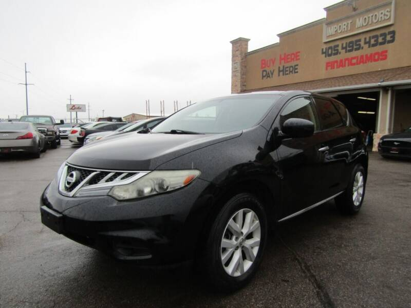 2012 Nissan Murano for sale at Import Motors in Bethany OK