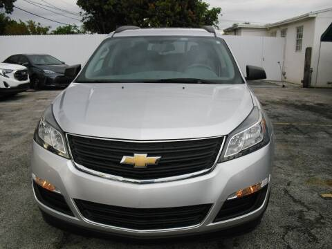 2016 Chevrolet Traverse for sale at SUPERAUTO AUTO SALES INC in Hialeah FL