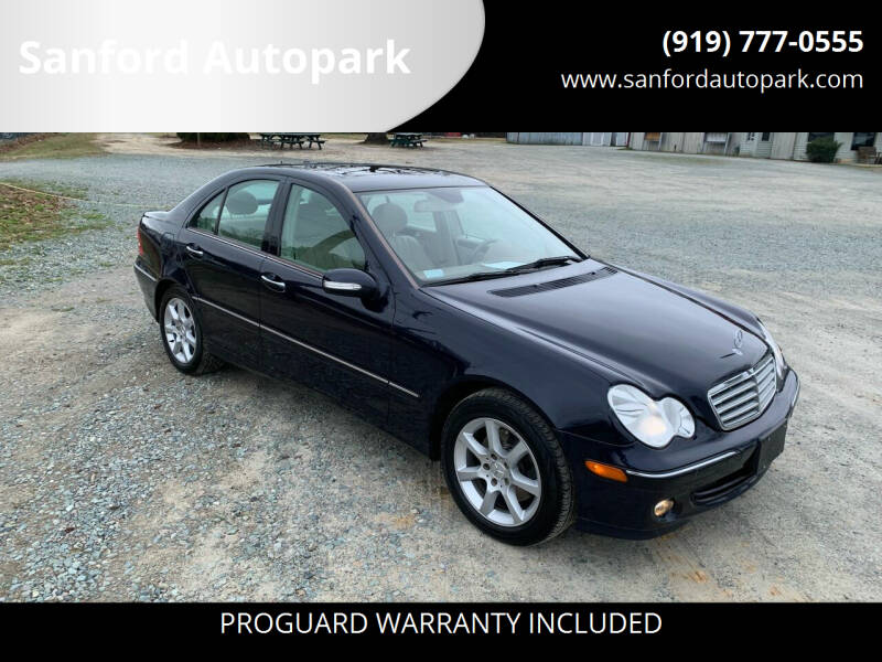 2007 Mercedes-Benz C-Class for sale at Sanford Autopark in Sanford NC